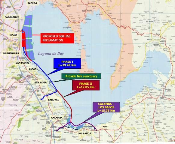P123-BILLION FOR LAGUNA LAKESHORE EXPRESSWAY-DIKE PROJECT