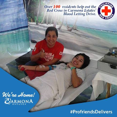 CARMONA ESTATES HOMEOWNERS BLOOD DONATION